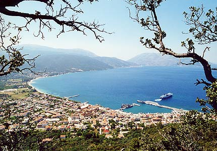 KEFALONIA PHOTO GALLERY - SAMI PORT