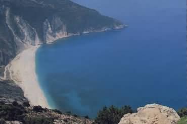 MYRTOS BAY BEACH -