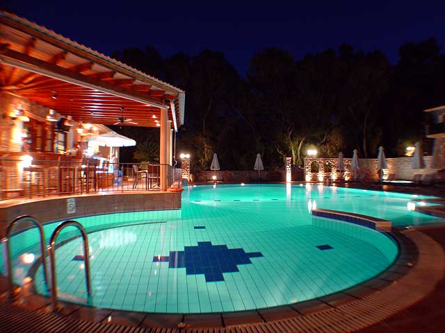 Pool Image Muses Hotel Skala Kefalonia CLICK TO ENLARGE