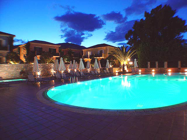 Pool Picture 9 Muses Hotel Skala Kefalonia CLICK TO ENLARGE