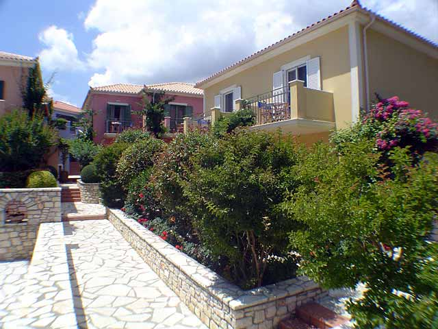 Garden Photo 9 Muses Hotel Skala Kefalonia CLICK TO ENLARGE