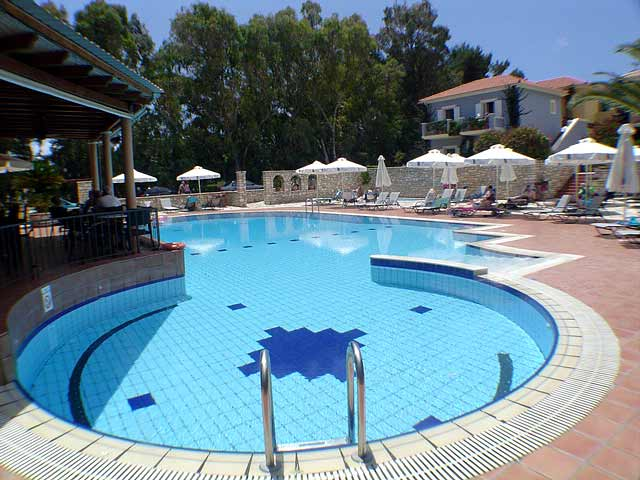 Pool Image 9 Muses Hotel Skala Kefalonia CLICK TO ENLARGE