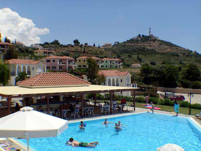 Pool Image Liberatos Village Lassi Kefalonia CLICK TO ENLARGE