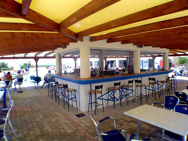 Photo of the Bar Liberatos Village Lassi Kefalonia CLICK TO ENLARGE