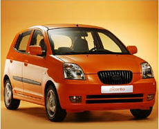 Category B Kia Picanto 1000cc A/C CLICK TO ENLARGE