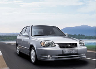 Category D Hyundai Accent 1400cc A/C CLICK TO ENLARGE