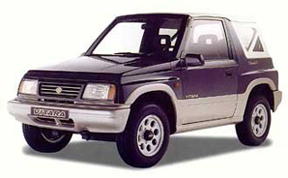 Category E1 Suzuki Vitara 1600cc 4x4 CLICK TO ENLARGE