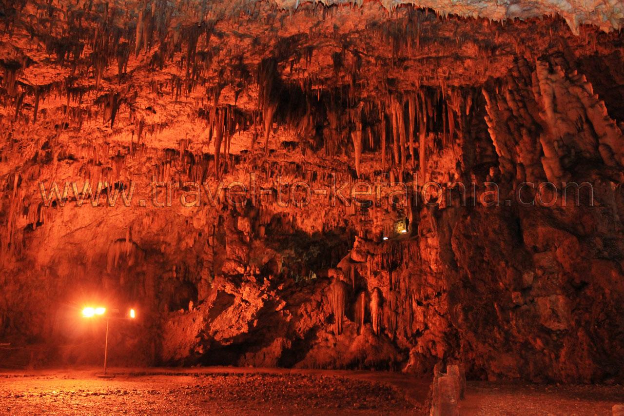 Drogarati cave Kefalonia Greece